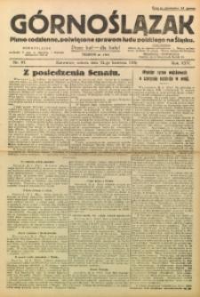 Górnoślązak, 1926, R. 25, Nr. 93
