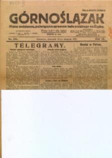 Górnoślązak, 1927, R. 26, Nr. 193