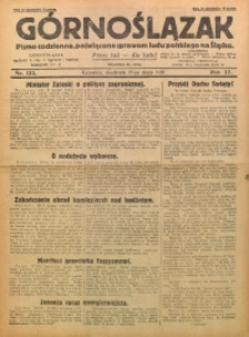 Górnoślązak, 1928, R. 27, Nr. 122