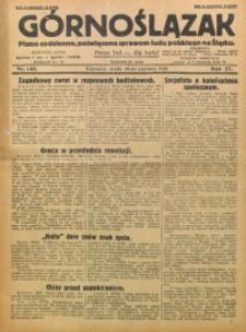 Górnoślązak, 1928, R. 27, Nr. 140