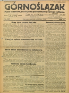 Górnoślązak, 1928, R. 27, Nr. 167