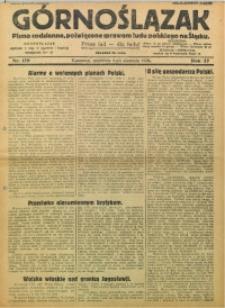Górnoślązak, 1928, R. 27, Nr. 179