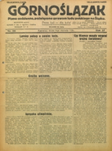 Górnoślązak, 1928, R. 27, Nr. 181