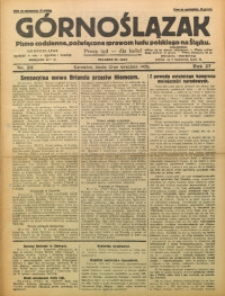 Górnoślązak, 1928, R. 27, Nr. 211