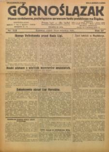 Górnoślązak, 1928, R. 27, Nr. 225