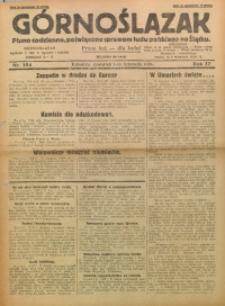 Górnoślązak, 1928, R. 27, Nr. 254