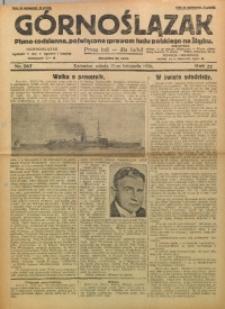 Górnoślązak, 1928, R. 27, Nr. 267