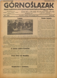 Górnoślązak, 1928, R. 27, Nr. 290