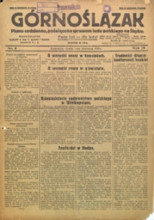 Górnoślązak, 1930, R. 29, Nr. 5