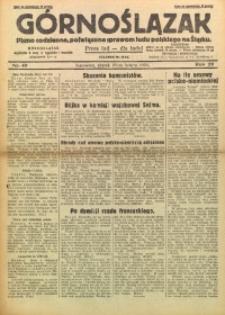 Górnoślązak, 1930, R. 29, Nr. 49