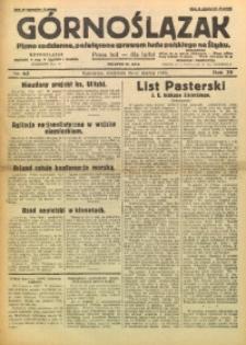 Górnoślązak, 1930, R. 29, Nr. 63