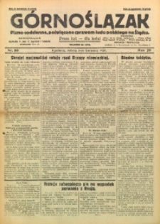 Górnoślązak, 1930, R. 29, Nr. 80