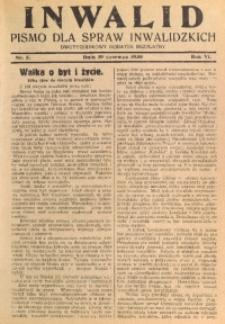 Inwalid, 1930, R. 6, Nr. 5