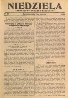 Niedziela, 1930, Nr. 21