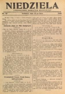 Niedziela, 1930, Nr. 27
