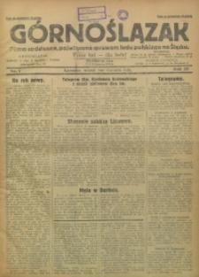 Górnoślązak, 1929, R. 28, Nr. 1