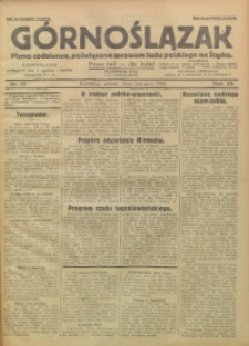Górnoślązak, 1929, R. 28, Nr. 12