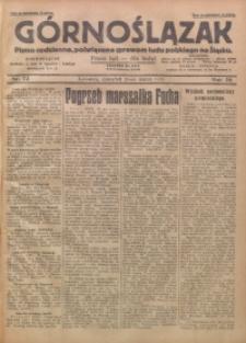 Górnoślązak, 1929, R. 28, Nr. 73