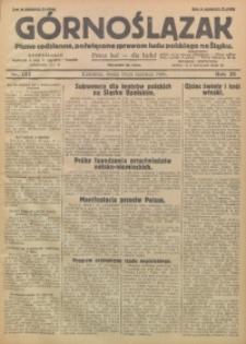 Górnoślązak, 1929, R. 28, Nr. 133