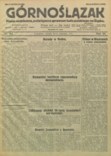Górnoślązak, 1929, R. 28, Nr. 183
