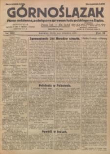 Górnoślązak, 1929, R. 28, Nr. 203
