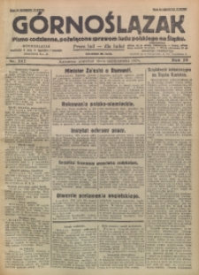 Górnoślązak, 1929, R. 28, Nr. 252