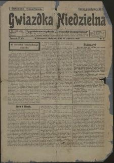 Gwiazdka Niedzielna, 1920, Nry 3, 18, 21-30