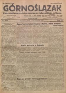 Górnoślązak, 1929, R. 28, Nr. 270
