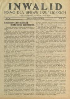 Inwalid, 1929, R. 5, Nr. 11