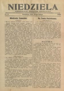 Niedziela, 1929, Nr. 6