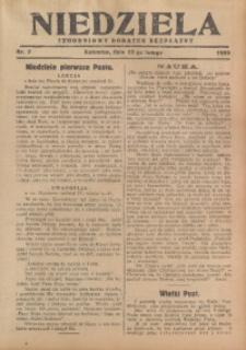 Niedziela, 1929, Nr. 7