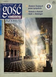Gość Niedzielny, 2000, R. 73, nr 27