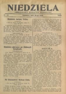 Niedziela, 1929, Nr. 21