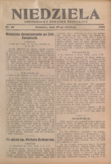 Niedziela, 1929, Nr. 39