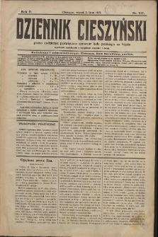 Dziennik Cieszyński, 1907, Nry 147-244, 246-298