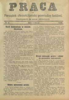 Praca, 1929, Nr. 2