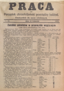 Praca, 1929, Nr. 21