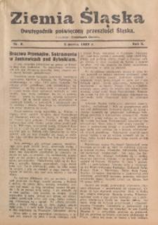 Ziemia Śląska, 1929, R. 3, nr 5