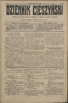Dziennik Cieszyński, 1910, Nry 75-146