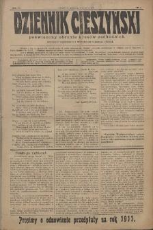 Dziennik Cieszyński, 1911, Nry 1-74