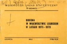 Rodzina w województwie legnickim w latach 1975-1979