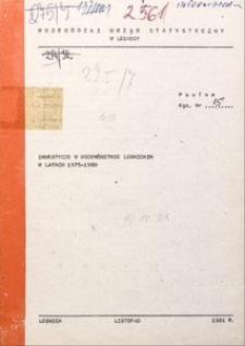 Inwestycje w województwie legnickim w latach 1975-1980