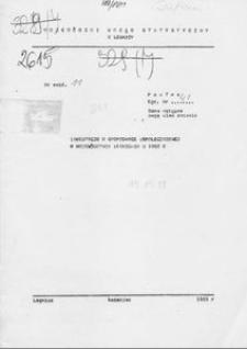 Inwestycje w gospodarce uspołecznionej w województwie legnickim w 1982 r.