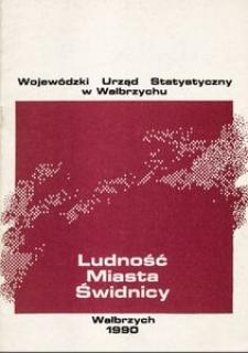 Ludność Miasta Świdnicy
