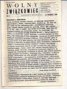 Wolny Związkowiec, 1980, nr 4