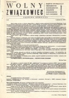 Wolny Związkowiec, 1980, nr 6