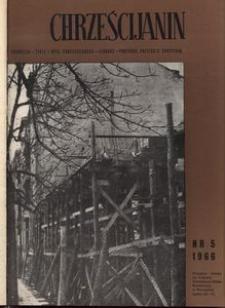 Chrześcijanin, 1966, nr 5