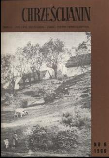 Chrześcijanin, 1966, nr 6