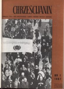 Chrześcijanin, 1967, nr 1
