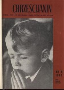 Chrześcijanin, 1967, nr 9